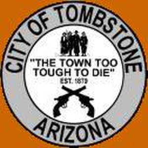 Tombstone, Arizona - Image: Seal of Tombstone, Arizona