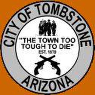 Tombstone, Arizona - Image: Seal of Tombstone, Arizona