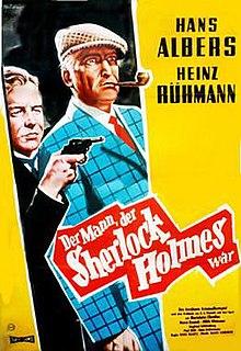 <i>The Man Who Was Sherlock Holmes</i> 1937 German film by Eduard von Borsody, Karl Hartl