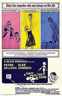 <i>A Shot in the Dark</i> (1964 film) 1964 comedy film by Blake Edwards