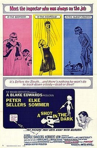 A Shot in the Dark (1964 film) - Theatrical release poster
