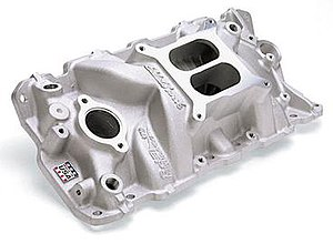 Edelbrock - Edelbrock's best selling product: The Chevy small-block intake manifold
