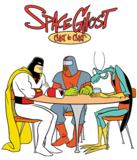 <i>Space Ghost Coast to Coast</i> American adult animated parody talk show
