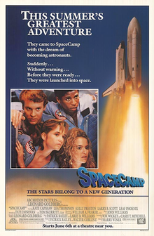 Space camp - 1986 Poster.png