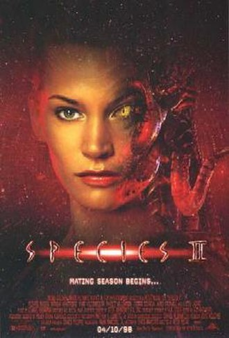 Species II - Theatrical release poster