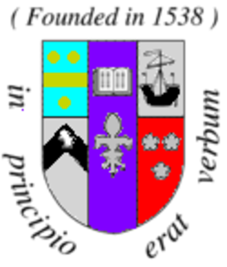 St Mary's College, St Andrews - St Mary's College coat of arms