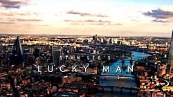 series titles over an aerial picture of London