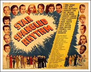 Star Spangled Rhythm - Theatrical release poster