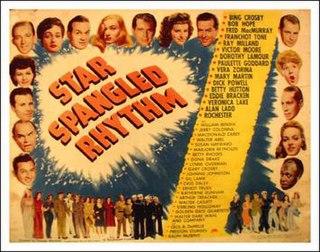 <i>Star Spangled Rhythm</i> 1942 all-star cast musical film