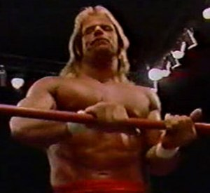 Starrcade (1988) - Lex Luger, who challenged Ric Flair for the NWA World Heavyweight Championship at Starrcade