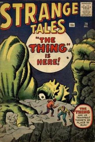 Strange Tales - Image: Strange Tales 79