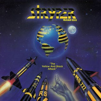 The Yellow and Black Attack - Image: Stryper TYABA1984