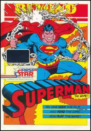 Superman: The Game - Image: Superman The Game Cover
