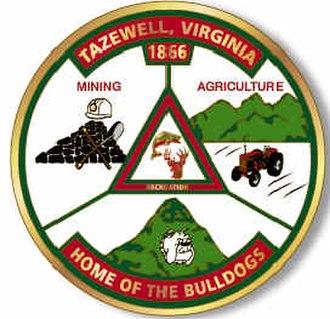 Tazewell, Virginia - Image: Tazewell Seal