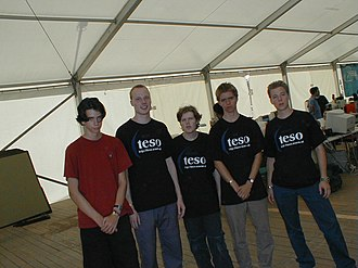 TESO (Austrian hacker group) - Image: Teso Crew 1999 at CCC Camp
