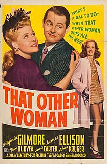 <i>That Other Woman</i> 1942 film by Ray McCarey