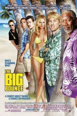 The Big Bounce (2004 film) - Theatrical release poster