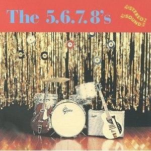 The 5.6.7.8's (album) - Image: The 5.6.7.8's (album) cover