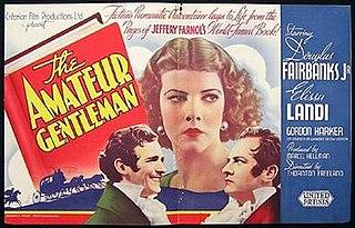 <i>The Amateur Gentleman</i> (1936 film) 1936 film by Thornton Freeland