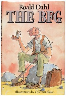 <i>The BFG</i> 1982 childrens book written by Roald Dahl