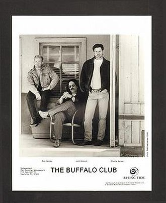 The Buffalo Club - The Buffalo Club promotional picture. L-R: Ron Hemby, John Dittrich, Charlie Kelley