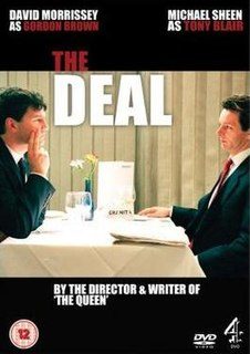 <i>The Deal</i> (2003 film) 2003 television film directed by Stephen Frears