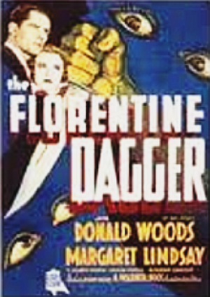 The Florentine Dagger - theatrical release poster