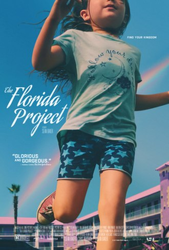 The Florida Project - Theatrical release poster