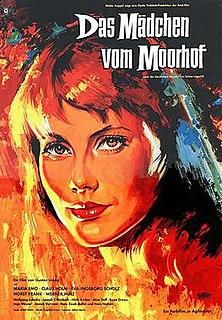 <i>The Girl from the Marsh Croft</i> (1958 film) 1958 film by Gustav Ucicky