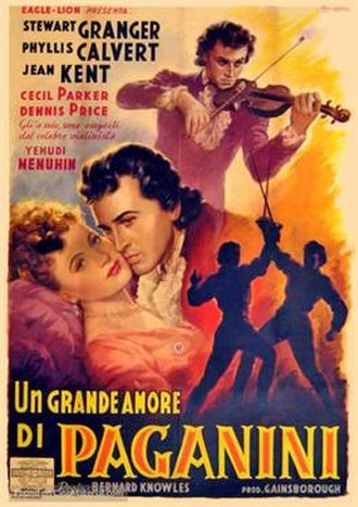 The Magic Bow - Italian theatrical poster