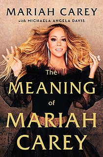 <i>The Meaning of Mariah Carey</i>