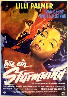 <i>The Night of the Storm</i> 1957 West German drama film by Falk Harnack