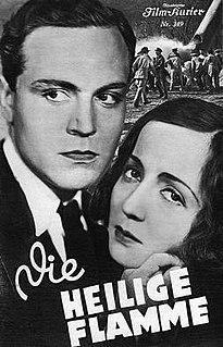 <i>The Sacred Flame</i> (1931 film) 1931 film