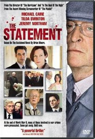The Statement (film) - Image: The Statement Video Cover
