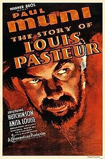 <i>The Story of Louis Pasteur</i> 1936 film by William Dieterle
