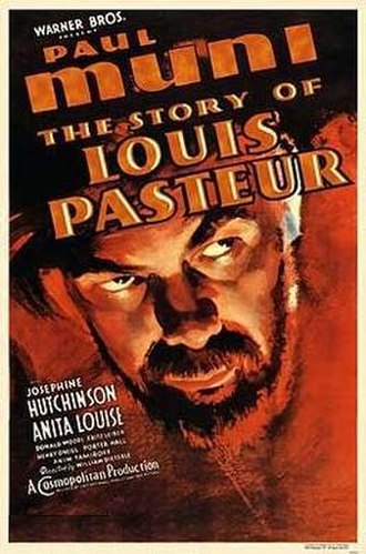The Story of Louis Pasteur - Theatrical release poster