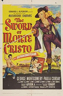 <i>The Sword of Monte Cristo</i> 1951 film by Maurice Geraghty