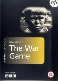 <i>The War Game</i> 1965 television film directed by Peter Watkins