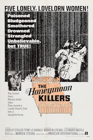 The Honeymoon Killers - Theatrical poster