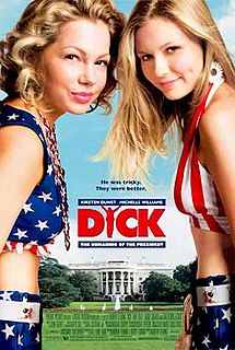 <i>Dick</i> (film) 1999 American comedy film by Andrew Fleming