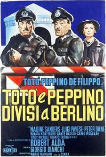 <i>Toto and Peppino Divided in Berlin</i> 1962 film by Giorgio Bianchi