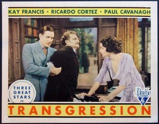 <i>Transgression</i> (1931 film) 1931 film