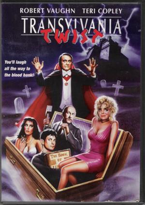 Transylvania Twist - DVD cover