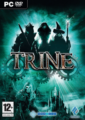 Trine (video game) - PAL region box art for the PC version