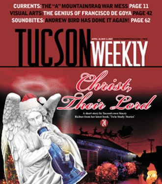 Tucson Weekly - Image: Tucson Weekly (front page)