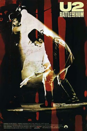 Rattle and Hum - Theatrical release poster