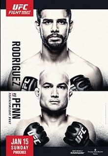 Картинки по запросу UFC Fight Night Rodriguez vs. Penn