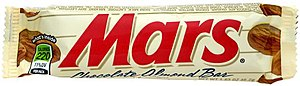 Mars (chocolate bar) - A US Mars bar