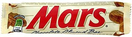 Mars (chocolate bar) - Wikiwand