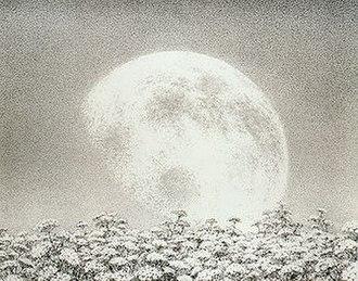 Yevgeny Ukhnalyov - Moon rise, 1998
